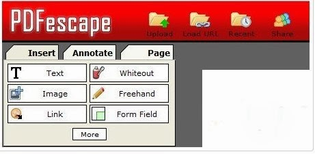 pdf options clearer