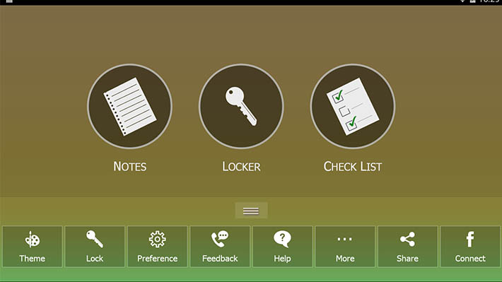 All-In-One-Notes-Check-Lock-screenshot