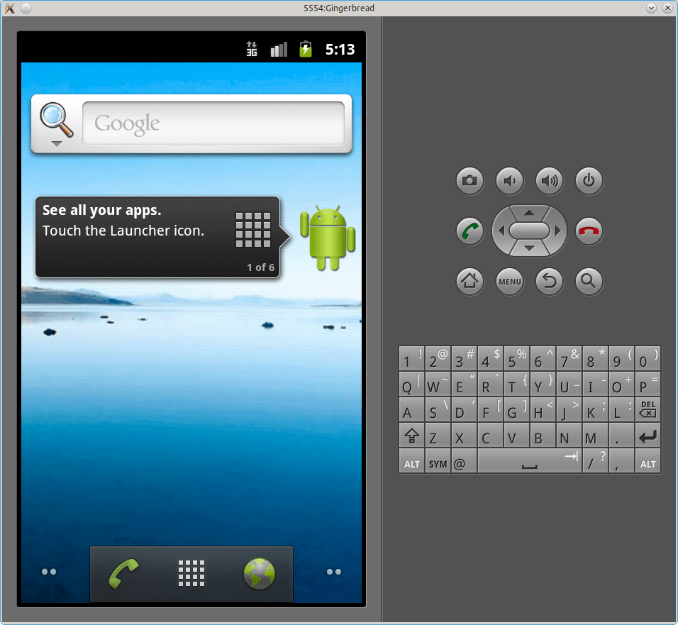 Android SDK Emulator or Native Android Emulator