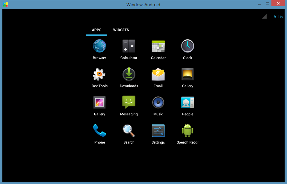 Android for PC Emulator