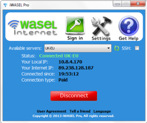 iwasel connected