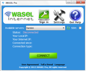 iwasel disconnected