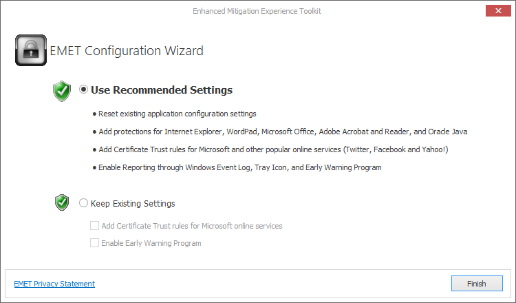 emet-use-recommended-settings