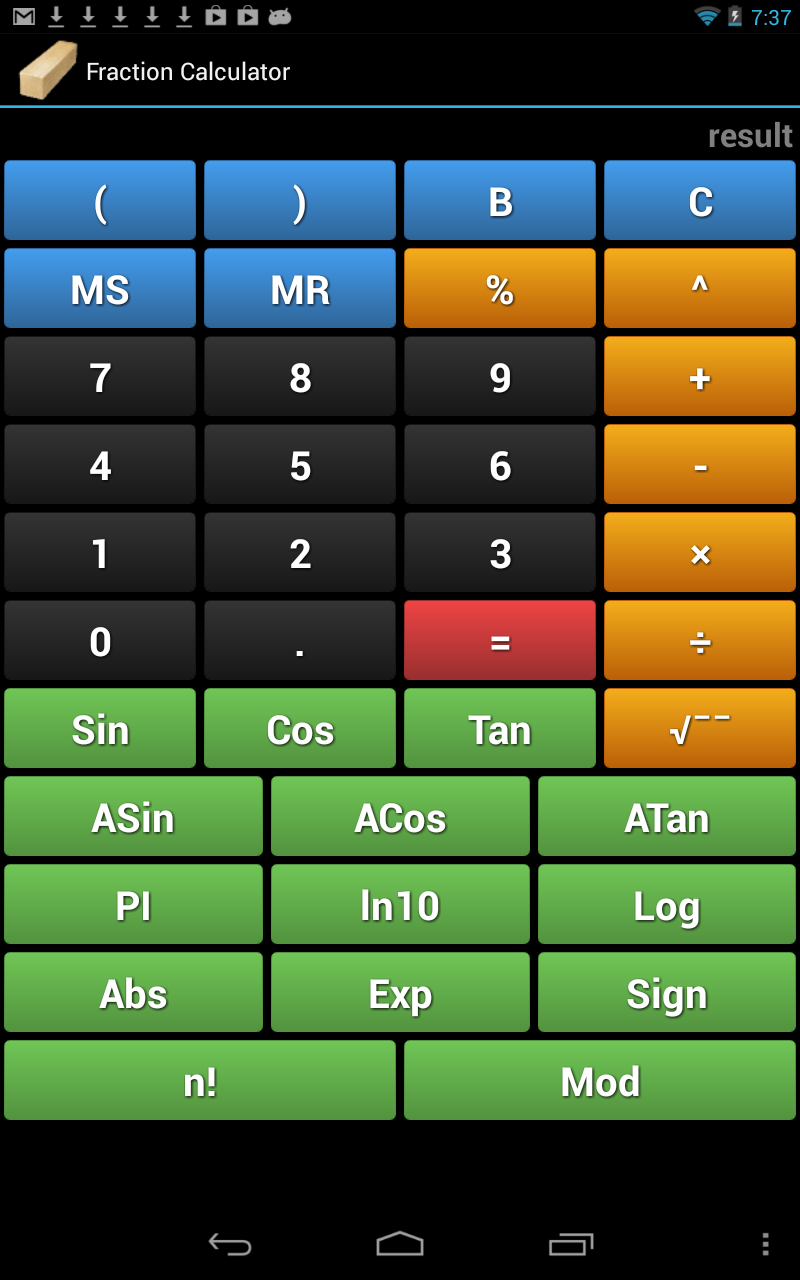 تطبيق Handyman Calculator