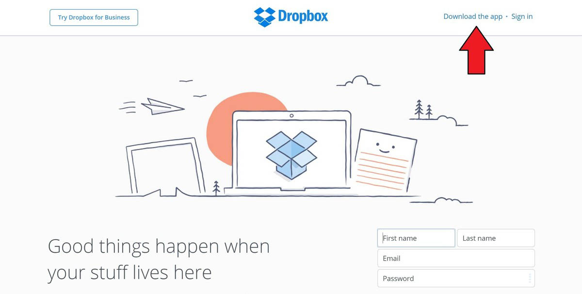 dropbox-site-download-app