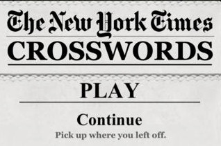 تطبيق NYTimes Crosswords لتنشيط الدماغ