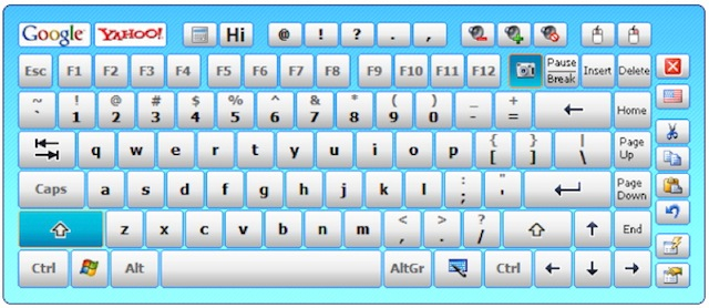 Hot-Virtual-Keyboard